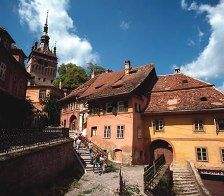 Sighisoara, Romania is also the place where Vlad the Impaler, known as Dracula, was born. Dinner in Casa Vlad Dracul Restaurant, the very place where Vlad the Impaler was borne, turned today into a cosy restaurant where you'll taste the delicious Count's dishes