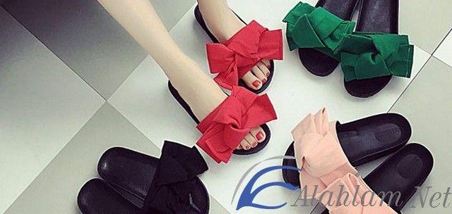 رؤية الشبشب في المنام للحامل و العزباء والمتزوجة والرجل الشبشب الشبشب في الحلم الشبشب في المنام تفسير حلم الشبشب Ribbon Slides Fashion Sandals