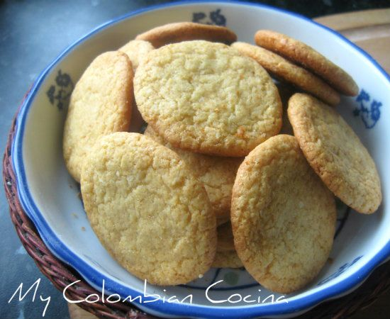 Galletas de Coco Colombia, cocina, receta, recipe, colombian, comida.