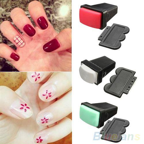 Stempel Werkzeug für Nail Art Design Punkte Stift für Manicure Polish Punktierung Single/Double Side Stamper Schaber Maniküre Werkzeug