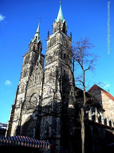 #Churches of #Nuremberg   St. Lorenz