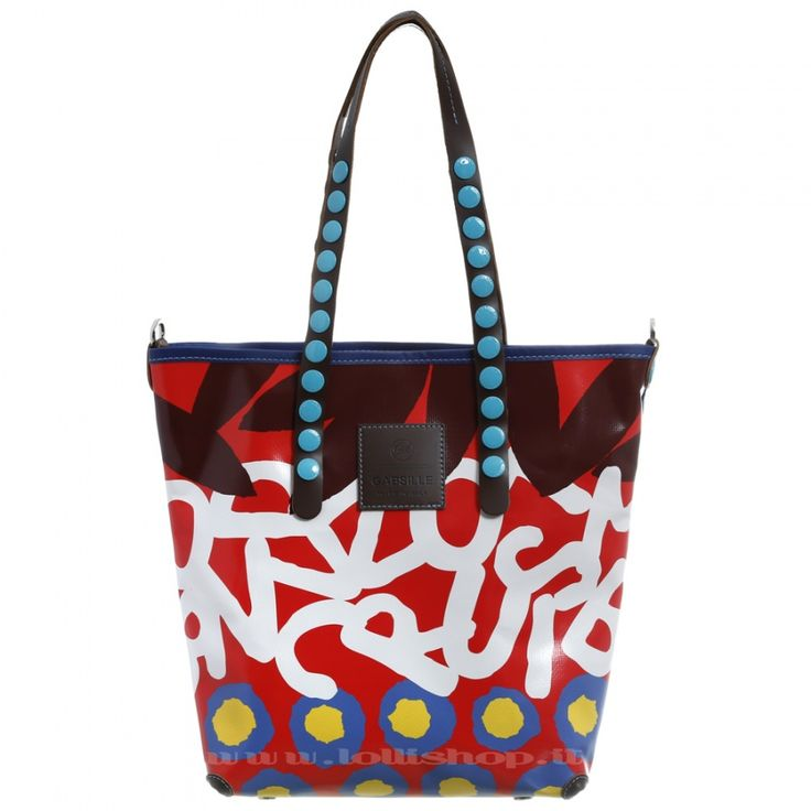 Borsa Gabs Lucrezia M Telone Scritte #lollishop #gabs #collection #bag #bags #borsa #womenfashion #apparel #style #fashion #madeinitaly #winter #outfit #red #black