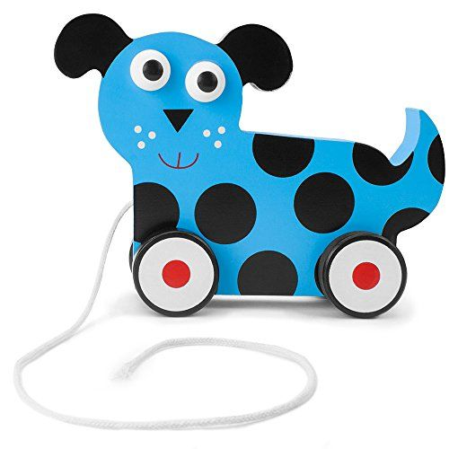 Imagination Generation Wooden Wonders Push-n-Pull Dalmatian Puppy Toy * Click image to review more details.