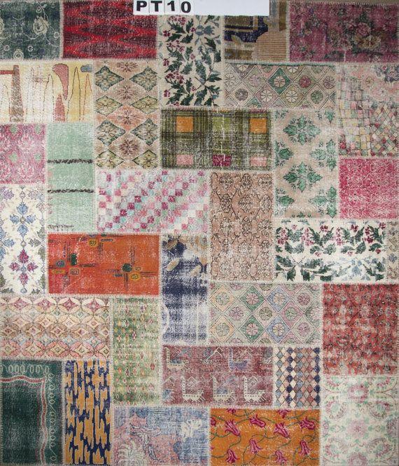 17 Best Art Deco Patchwork Vintage Rugs Images On Pinterest