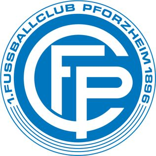 1. FC Pforzheim of Germany crest.