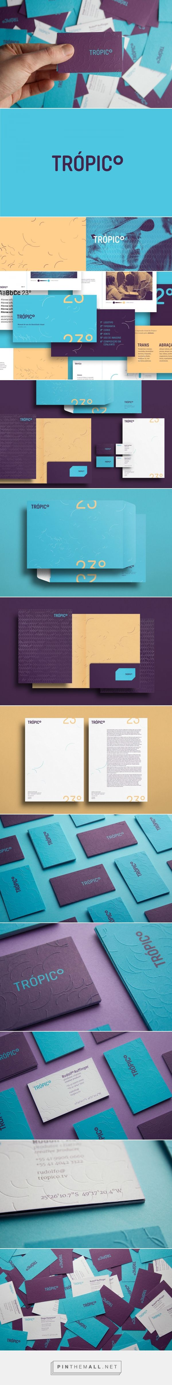 Trópico - Sweet Branding and Color Scheme