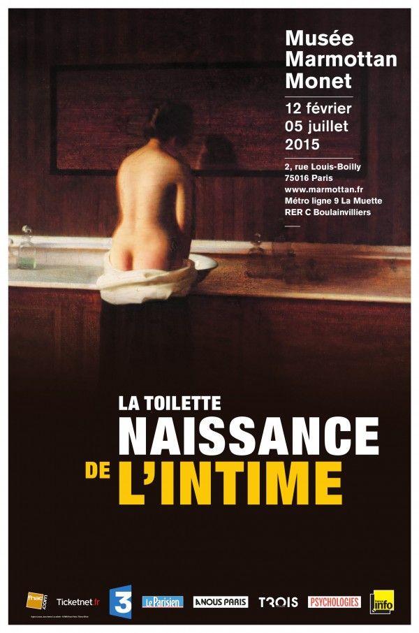 La Toilette, naissance de l'intime au Musée Marmottan Monet : Affiche.