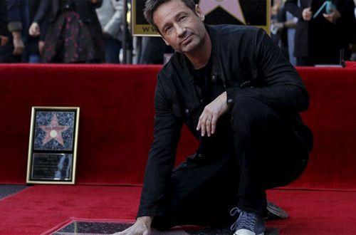 Актер Дэвид Духовны получил звезду на голливудской Аллее славы