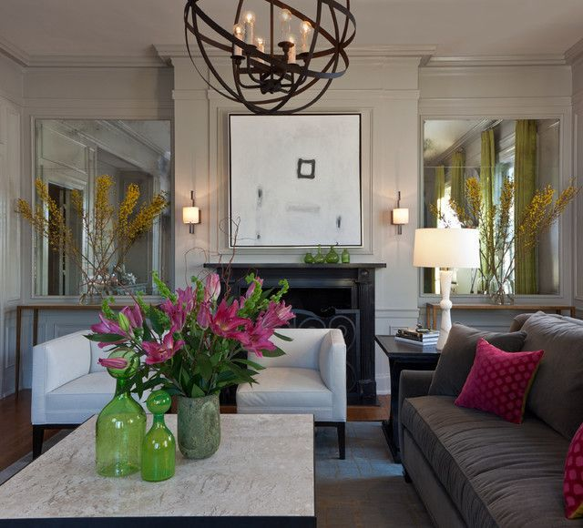 Decorate With Mirrors: Beautiful Ideas For Home Part 86