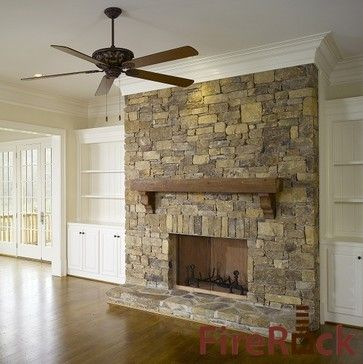 Fireplace Built In Shelves Design Ideas Pictures