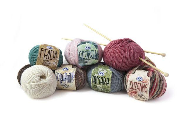 El blog de Dmc: Nueva colección de lanas Green Avant-Garde y Tender Heart