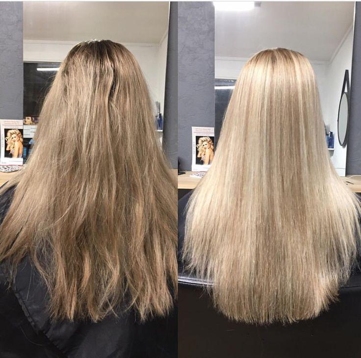 Blonde foils hair by Charmaine