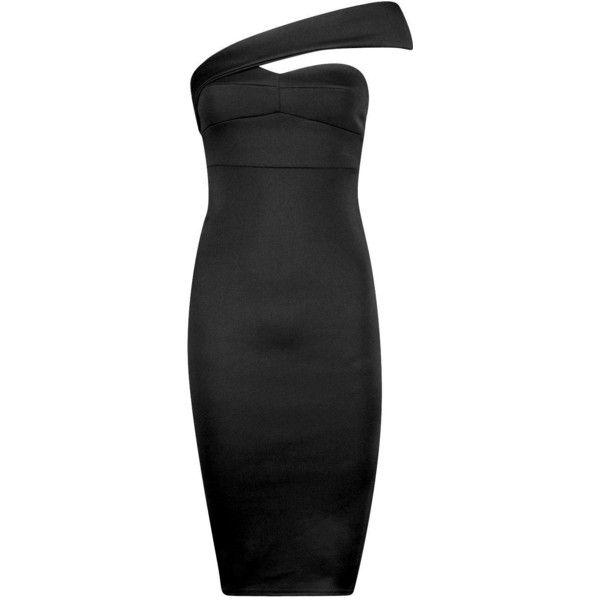 Boohoo Petite Petite Caroline One Shoulder Strap Midi Dress (225 SEK) ❤ liked on Polyvore featuring dresses, sequin dresses, bodycon midi dress, midi dress, sequin maxi dress and cocktail maxi dresses