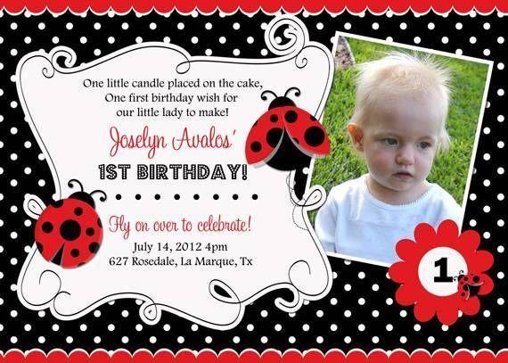 45 best girl birthday invitations images on pinterest girl ladybug birthday party invitations many designs filmwisefo Gallery