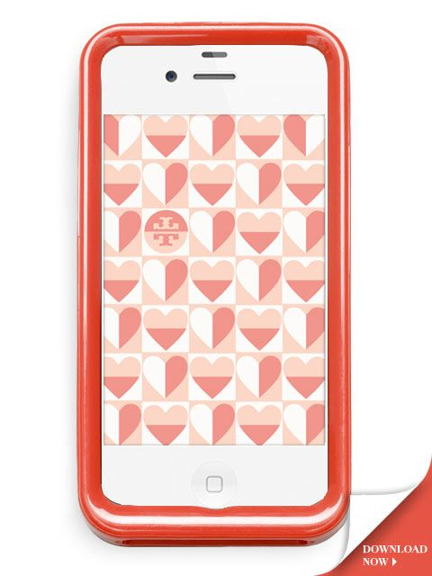 Tory iPhone Wallpaper for V-Day