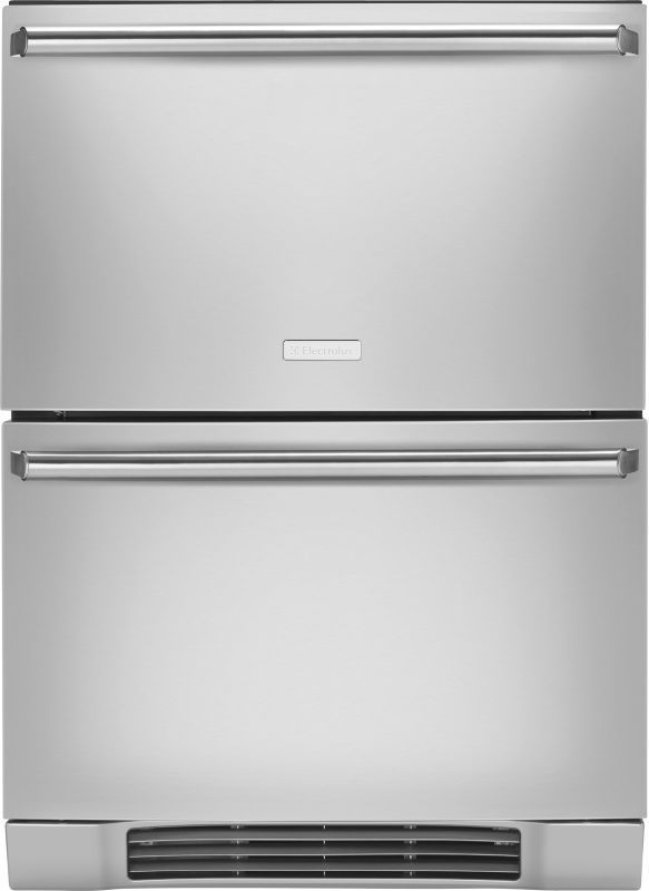 """Electrolux EI24RD10QS 24"""" Refrigerator Drawers with Perfect Set Temperature Cont Stainless Steel Refrigerators Drawers Fridge"""