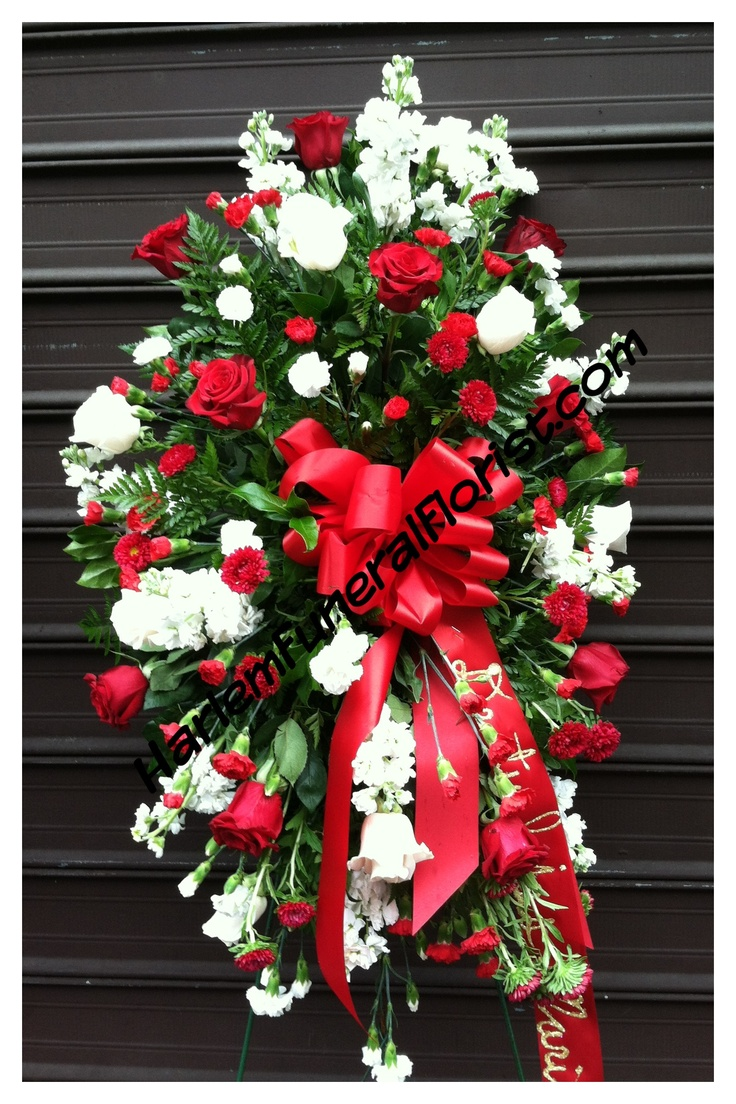 48 best funeral flowers images on pinterest funeral flowers reds and whites for a gentleman izmirmasajfo Choice Image