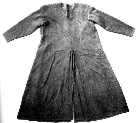 Tunic from Moselund, find from bog dated to ca. 1100. National Museum of Denmark, Kopenhagen