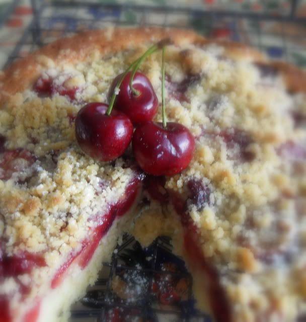Food So Good Mall: Whole Wheat Cherry Crumble Cake