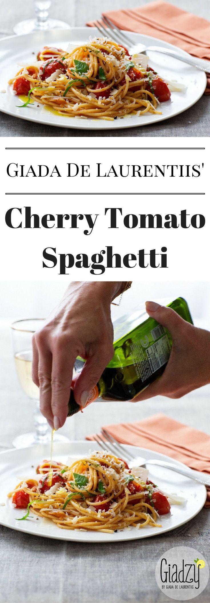 Giada's Cherry Tomato Spaghetti