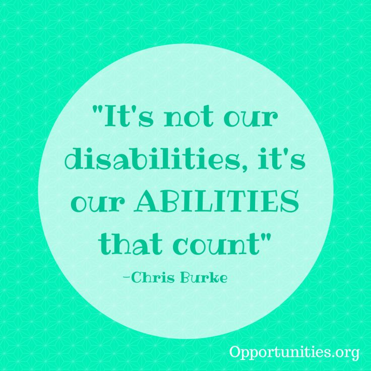 essay on disability is not an ability Abilities not a theoretical abstraction, but lived experience the dramatur-  it's  not surprising that essays on disability and performance should appear in these.