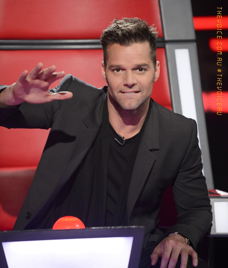 Ricky Martin one of the judges on The Voice Australia