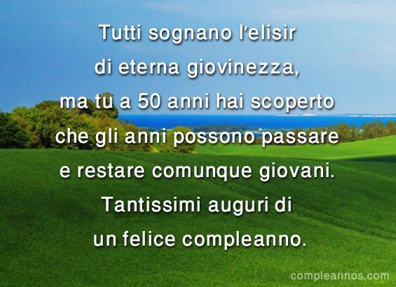 Tutti sognano l'elisir di eterna giovinezza - auguri 50 anni #auguri50anni #compleanno