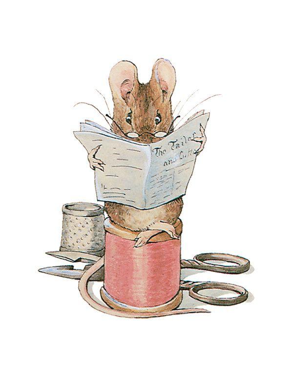 J'ai parlé il y a quelques jours de L'aventure de Noël de Pierre Lapin, une suite des aventures de Pierre Lapin écrite par E.Thompson. Mais vous savez que Beatrix Potter a écrit un conte de Noël ? C'est Le tailleur de Gloucester, l'histoire d'un pauvre...