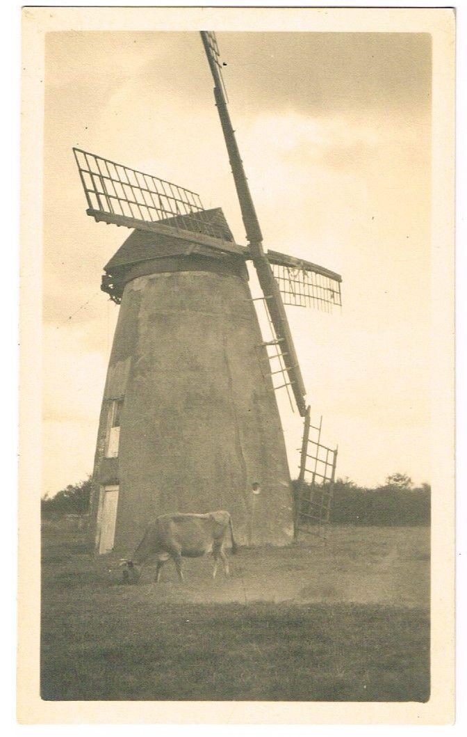 POSTCARD SIZE PHOTO HOLMER GREEN WINDMILL HIGH WYCOMBE BUCKS REX WAILES C.1925 | eBay