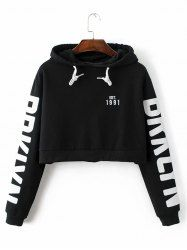 SHARE & Get it FREE | String Cropped Letter HoodieFor Fashion Lovers only:80,000+ Items • New Arrivals Daily • Affordable Casual to Chic for Every Occasion Join Sammydress: Get YOUR $50 NOW!