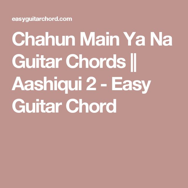1000+ ideas about Easy Guitar Chords on Pinterest : Guitar Chords, Guitar Tabs For Beginners and ...