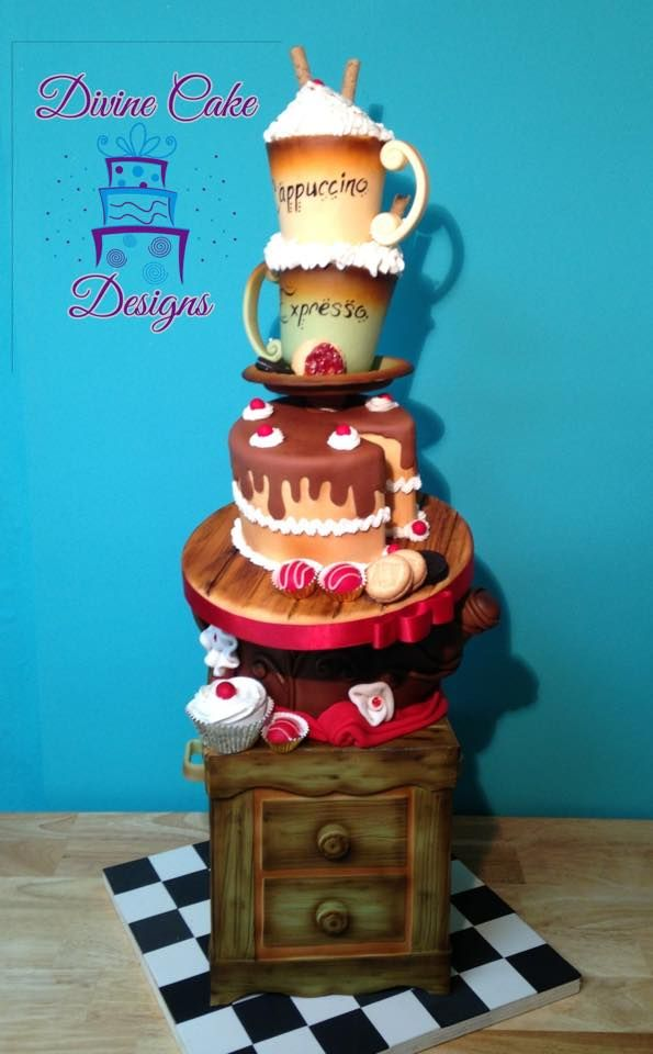 Divine Cake Designs Dorado : 1000+ images about Cakes on Pinterest
