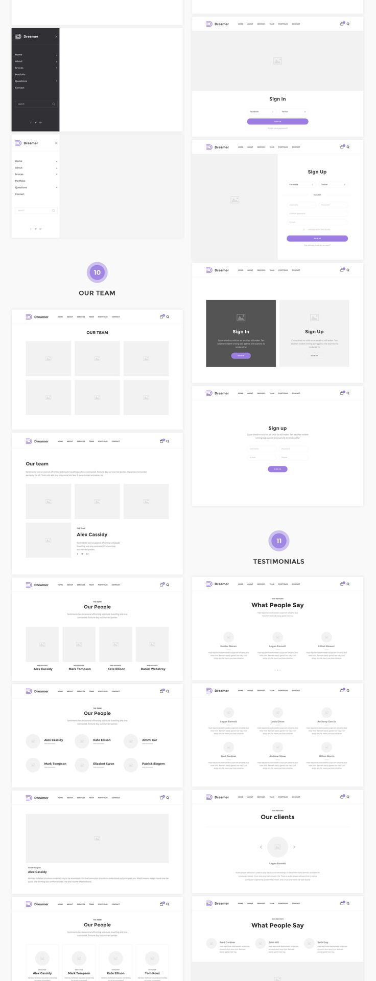 Dreamer is an excellent wireframe tool for creation of