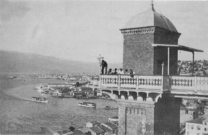 ✿ ❤ Bir zamanlar İzmir, tarihi asansör. https://www.izmir.bel.tr/FotografGalerisi/7/tr