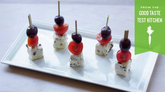 cute appetizers for Casino Night!