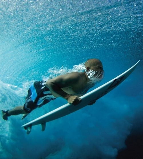 Kelly Slater... Photo: Quiksilver...