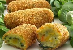 Recetas para tu Thermomix - desde Canarias: Croquetas de verduras y queso…