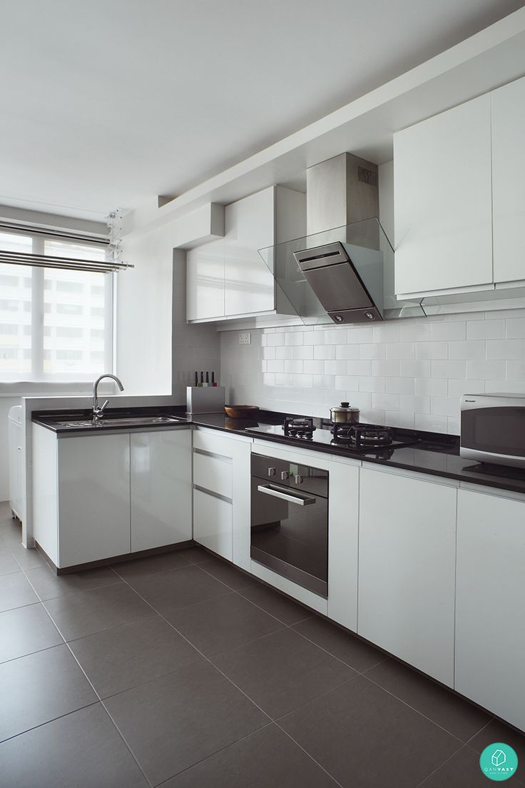 How singaporeans reinvent the scandinavian style singapore home and beautiful for Singapore hdb kitchen design