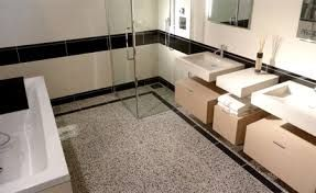 Afbeeldingsresultaat voor badkamer terrazzo