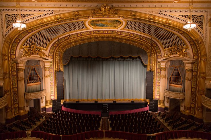 Minneapolis State Theatre opened in 1921 and was considered the most technologically advanced and elaborate theatre in the United States. #Minneapolis #Theatre #StateTheatre