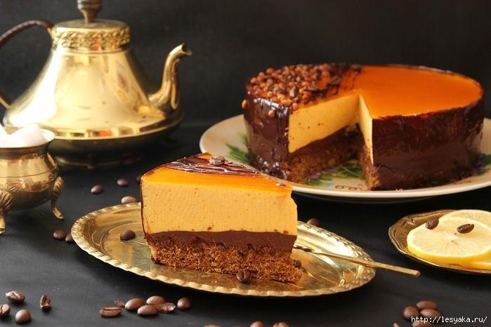 Осенний кофейно-облепиховый торт. Обсуждение на LiveInternet - Российский Сервис Онлайн-Дневников