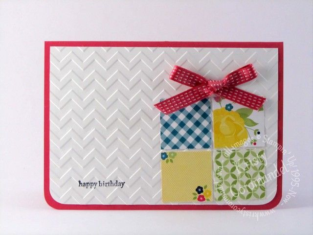 Birthday Gift Card - created by Kristy Coromandel.  Products and instructions can be found on the blog http://www.kristycoromandel.com/birthday-gift-card/