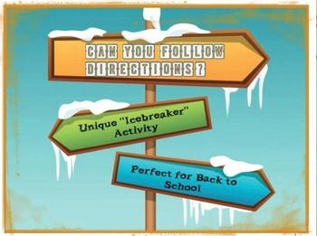"""Have your middle and high school students """"belly-laughing"""" from the beginning of the year with this unique """"Icebreaker"""" activity!"""