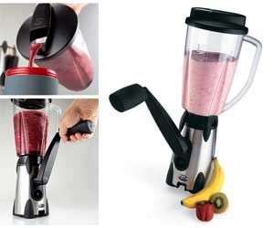 Vortex Hand Blender - Get wild and make mixed drinks out in the wild! Lots of neat camping stuff at this website.