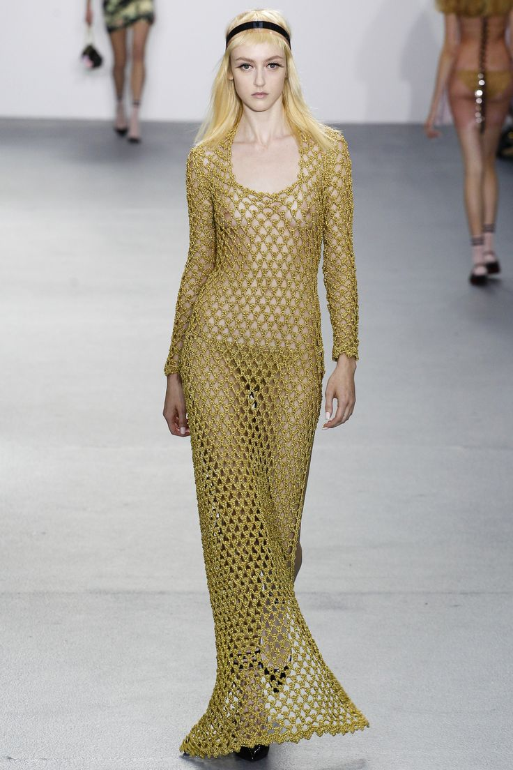 Raise your hand if you can picture Rihanna wearing this. Sibling Spring 2016 RTW