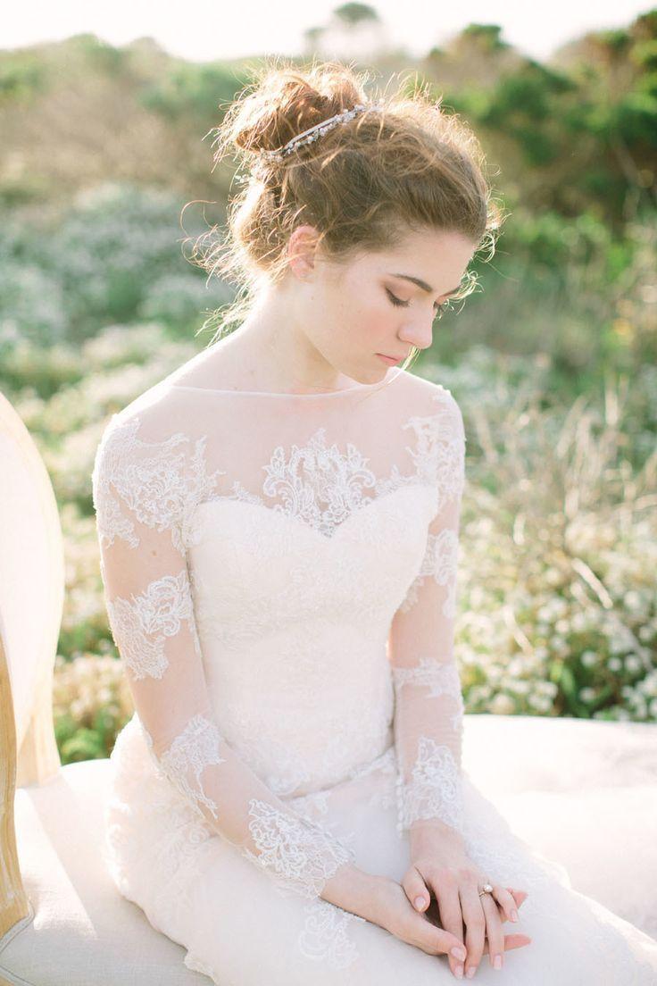 Long Sleeved Wedding Dress | itakeyou.co.uk: