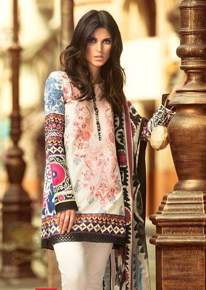 Latest Fashion In Pakistan 2015 16 Medium Shirts With Cigarette Pants