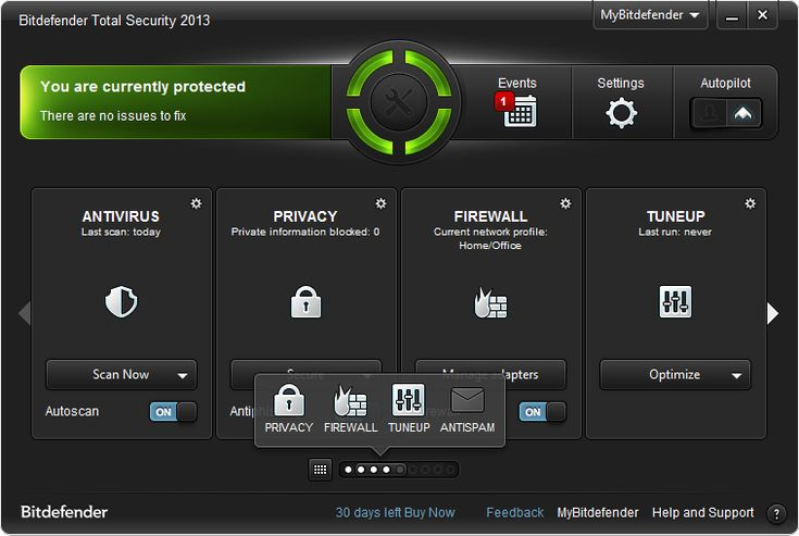Bitdefender antivirus help you to protect your MAC & windows PC by preventing security attacks. its important to secure your data & internet