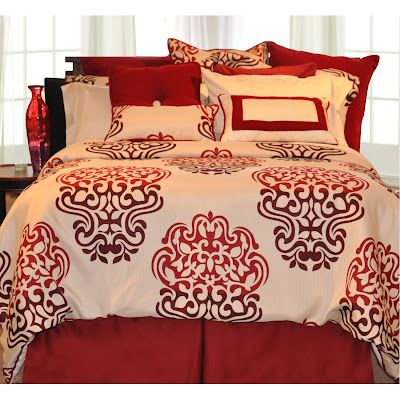 Red Bedding Sets for The Childrens Bedroom Ideas - Children's Bedroom Ideas - Zimbio #HTCOneRed