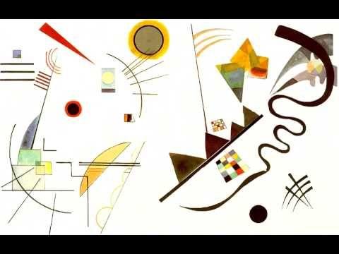 """animation vidéo à partir d'un tableau de Kandinsky. Réalisation : Benoît Voarick pour l'installation """"Sonorité des couleurs"""". Compagnie Vire Volte 2005 CETTE..."""
